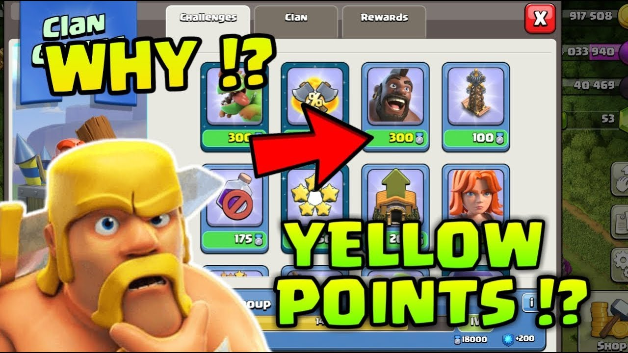 Why Yellow Clan Games Points !? Full Information ! Clash of Clans
