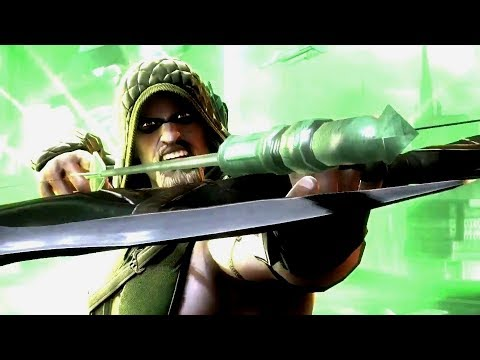 THE GREEN ARROW Story (Injustice Series)