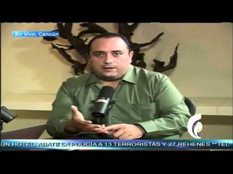 José Cárdenas entrevista al gobernador de Quintana Roo, Roberto Borge