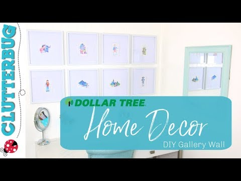 Dollar Tree Home Decor - DIY Gallery Wall