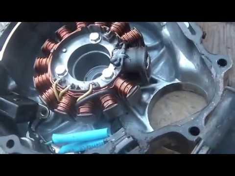 1985 Honda ATC 250SX, CDI pulse generator open wire repair, - YouTube