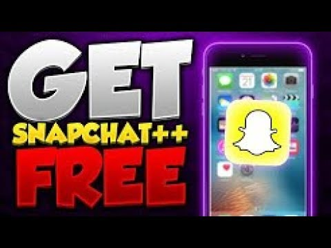 (WORKING 2018) How to Install Hacked Snapchat ++ on ios 10 3 3/ios 11 (No  Jailbreak / No Computer)