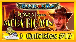 MEGA BIG WIN| LR Quickies #17- OVO Casino- BOOK OF RA Deluxe auf 1€