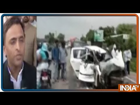 Unnao Victim Accident: Akhilesh Yadav says he has no trust in UP Police