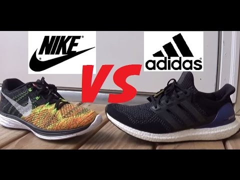 nike free run vs adidas boost