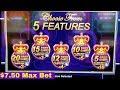 Wonder 4 Tall Fortunes Miss Kitty Gold $12 Bet Bonus | Thunder Diamonds  $7.50 Max Bet Bonus Won