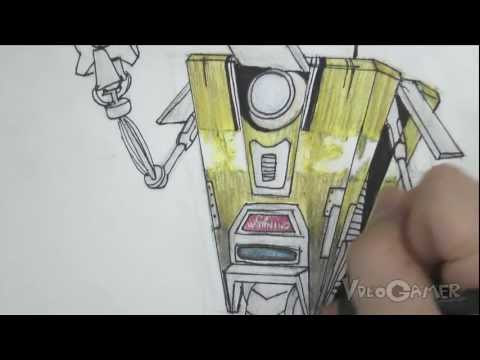 How to Draw Clap Trap (Borderlands)