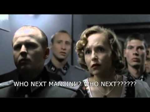 Hitler finds out Manchester City have sold De jong.