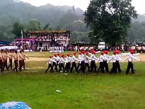 Celebration independent day 15/08/2017 in baghmara