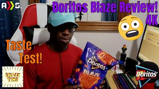 Doritos Blaze Chips Review! | 4K | #Doritos #NowItsHot