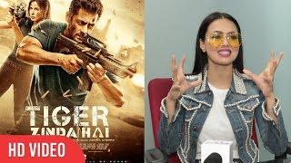 Sana Khan Reaction On Tiger Zinda Hai   Salman Khan   Katrina Kaif