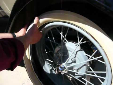 pikes peak model a club changing a tire youtube. Black Bedroom Furniture Sets. Home Design Ideas