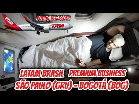 Flight Report #19: São Paulo (GRU) para Bogotá (BOG), na PREMIUM BUSINESS da Latam Brasil