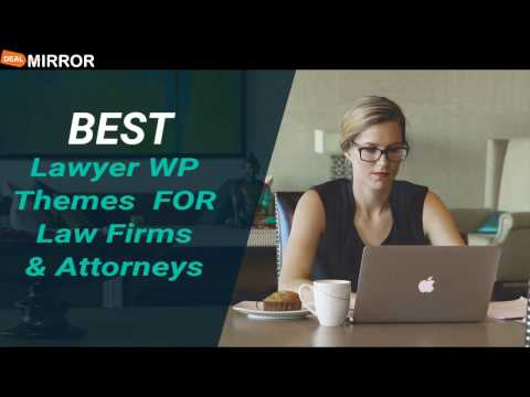 Best Lawyer WordPress Themes For Law Firms Attorneys