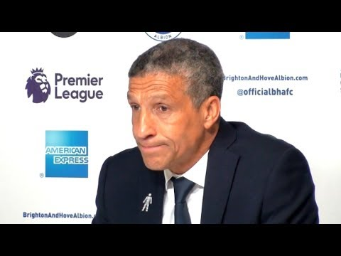 Brighton 1-1 Tottenham - Chris Hughton Full Post Match Press Conference - Premier League