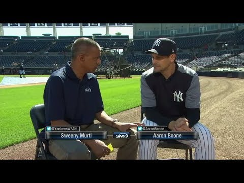 SNY Exclusive: Yankees skipper Aaron Boone talks hopes and fears