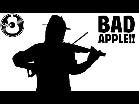 Touhou - Bad Apple!! (Electric Violin Cover) || String Player Gamer