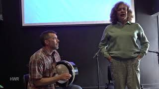 Teacher's Recital: Andy Kruspe (1) with Helen Flaherty, Craiceann Bodhrán Festival 2019
