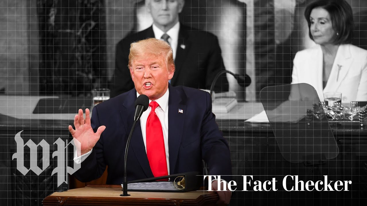 Fact-checking Trump's 2020 State of the Union | The Fact Checker