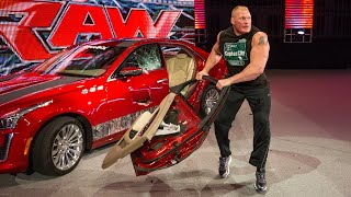 Download Brock Lesnar's craziest moments: WWE Playlist Mp3 and Videos