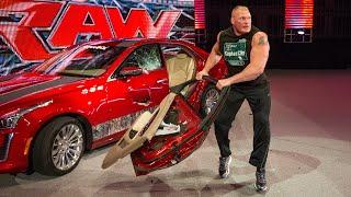 Brock Lesnar's craziest moments: WWE Playlist