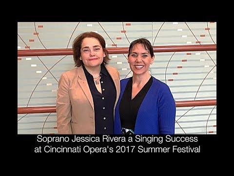 Soprano Jessica Rivera a Singing Success at Cincinnati Opera