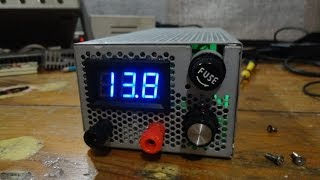 Tutorial: Fuente regulable digital tipo BUCK 0-30v (o más voltaje)