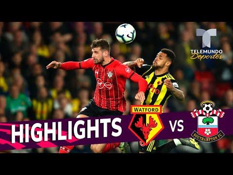 Watford vs. Southampton: 1-1 Goals & Highlights | Premier League | Telemundo Deportes