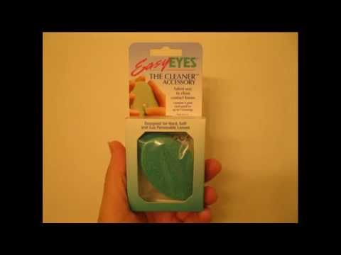 Easy Eyes Cleaning Pads for Contact Lenses