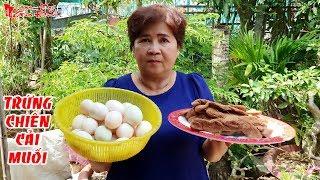 Cách Làm Trứng Vịt Chiên Cải Muối Sóc Trăng Đơn Giản Mà Hao Cơm Của Bà 5   NKGĐ