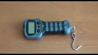 Розпакування та тест Kasadaka Digital Skale FS-25 електронних ваг рибака на замовлення Fmagazin