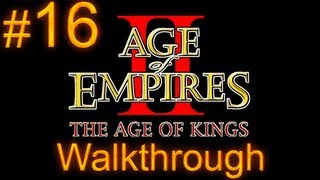 Age of Empires 2 Walkthrough - Part 16 - Saladin Campaign - The Horns of Hattin