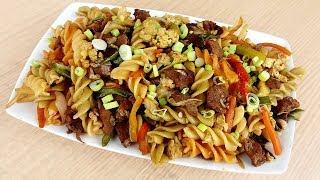 মজাদার বিফ পাস্তা রান্নার রেসিপি । গরুর মাংসের পাস্তা রান্না । পাস্তা রেসিপি । Beef Pasta Recipe
