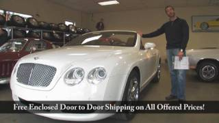 2007 Bentley GTC for sale with test drive, driving sounds, and walk through video