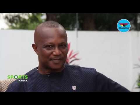 Black Stars coach Kwasi Appiah on Sports Check