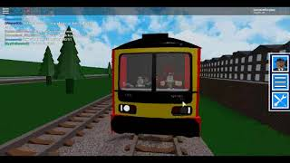 Roblox Grand Continental Railways Cab Ride on Class 325 from Gothlan to Giles Mount