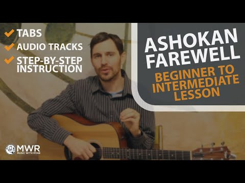 Ashokan Farewell - Guitar Lesson - Melody And Rhythm