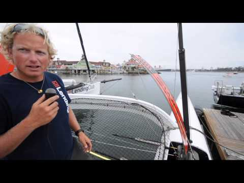 Transpac 2013: Explanations about all the moving parts on an offshore multihull