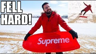 FIRST TIME USING THE SUPREME SLED! (MUST WATCH!)