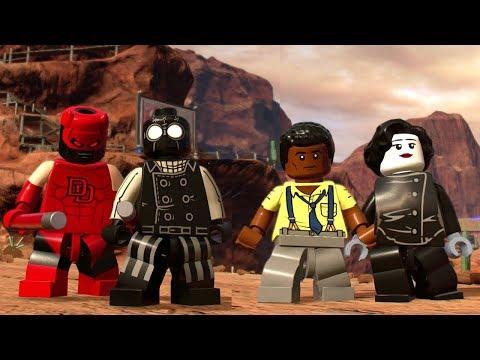 LEGO Marvel Super Heroes 2 - All Noir Characters (Spider-Man, Daredevil, Luke Cage & Elektra)