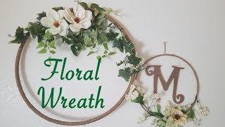 DIY Floral Wreath (Wedding Decoration)