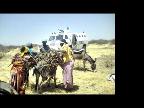 The policing mandate of UNAMID in Darfur, Sudan
