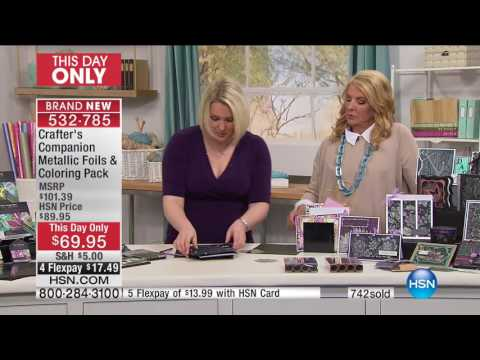 HSN | Crafter's Companion 03.08.2017 - 09 PM