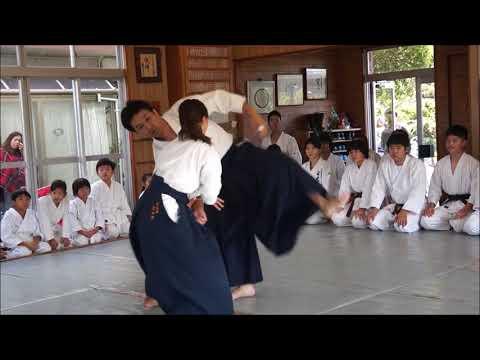 Powerful Aikido girl ( Wakayama Takemusukan dojo )