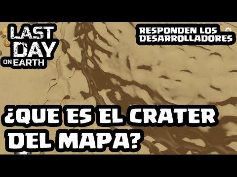 ¿QUE ES EL CRATER QUE HAY EN EL MAPA? | LAST DAY ON EARTH | [El Chicha]