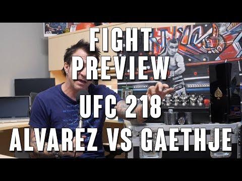 UFC 218: Alvarez vs Gaethje Fight Preview
