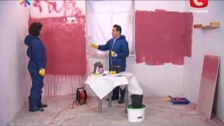 Испытываем распылитель краски - Все буде добре - Выпуск 177 - 06.05.2013 - Все будет хорошо
