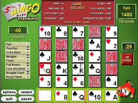 5-Card Slingo Daily Challenge