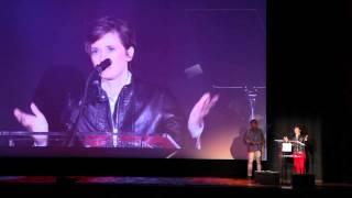 Kimberly Peirce's Acceptance Speech