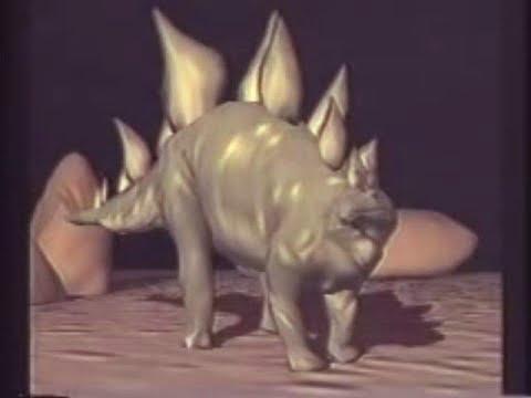 Stegosaurus: The Roof Lizard (1990) - First realistic dinosaur CGI animation
